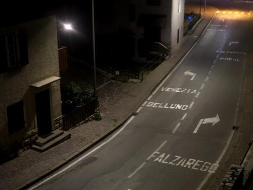 Noční zátiší, Cortina d´Ampezzo